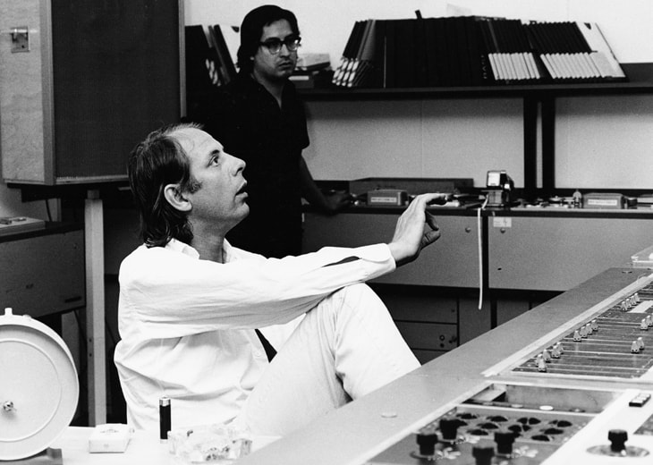 Stockhausen in Studio
