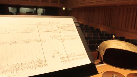 The first in our Turning Points Series at Kings Place, we performed three Stockhausen works in an immersive concert experience with talks, film and more, October 2016