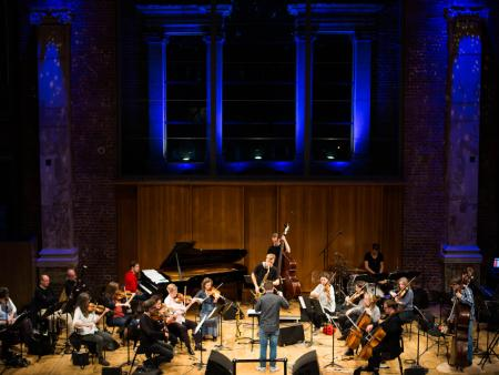 Marius Neset and the London Sinfonietta (c) Claudia Greco