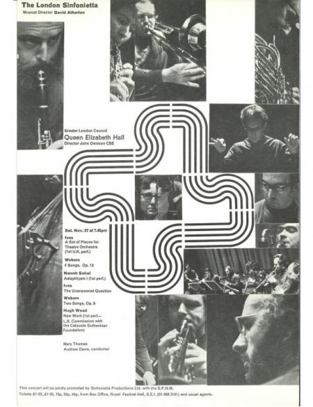 1971 - Ives, Webern, Sohal & Wood, 27 November