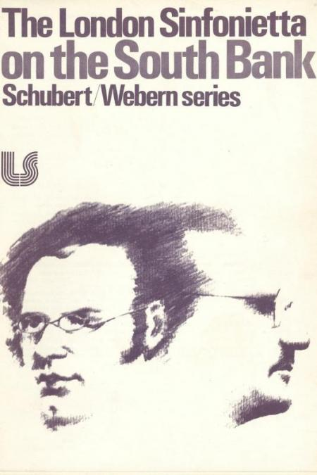 1979 - Schubert/Webern Series, January, generously supported by Tony Bolton