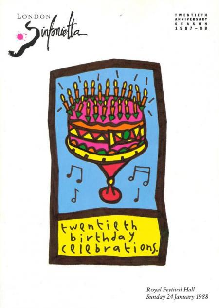 1988 - Twentieth Birthday Celebrations, 24 January, generously supported by P. E. Duly