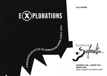 1989 - Explorations, 18–19 March