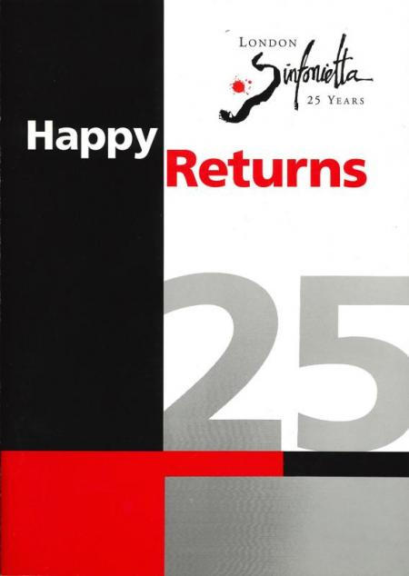 1992 - Happy Returns series, 20 October–1 December, generously supported by Stephen Morris