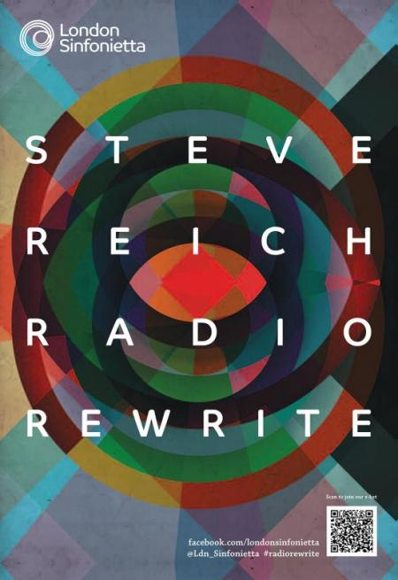 2013 - Steve Reich: Radio Rewrite, 5 March, generously supported by Antonia Till