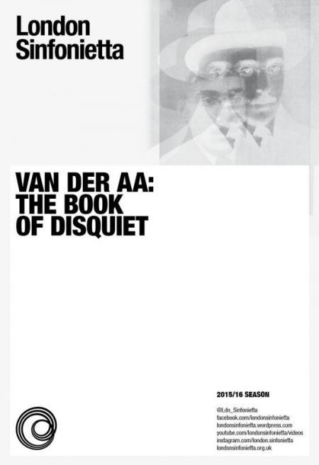 2016 – Van der Aa: The Book of Disquiet, 25 February