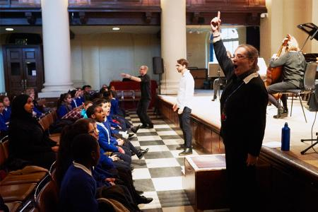 Primary schools concert at St John's Smith Square, 23 January 2017 © Xingkun Yang