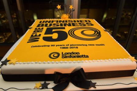 50th Anniversary birthday cake © Mark Allan