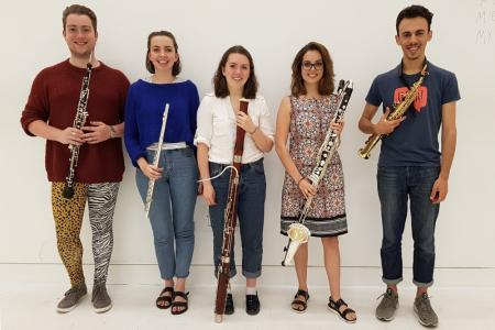 Woodwind section album cover! © Richard Lines-Davies