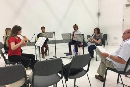 London Sinfonietta Academy, July 2017 © Sean Watson