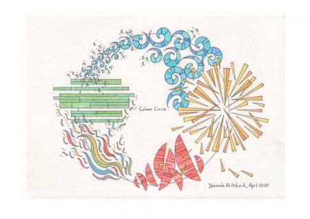 Colour Circle by Deborah Pritchard