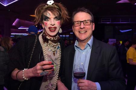David Hoyle and Andrew Burke © Mark Allan