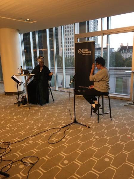 Jumoke interviews Elaine Mitchener