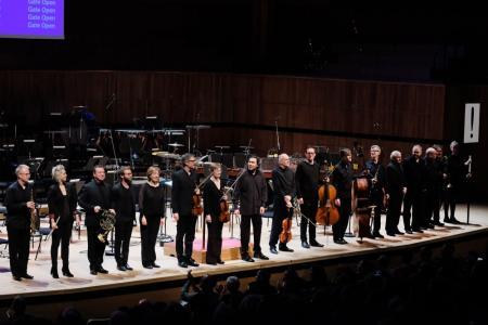 London Sinfonietta line-up © Mark Allan