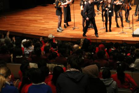 Repeating Patterns school's concert