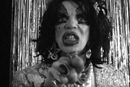 Performance artist David Hoyle in Philip Venable's Illusions, New Music Biennial, July 2017