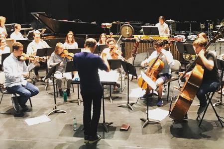 London Sinfonietta Academy ensemble © Natalie Marchant
