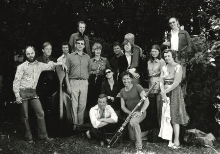 London Sinfonietta players, 1970s