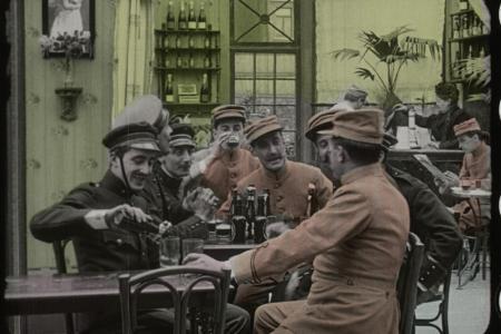 Still from Maudite soit la guerre © Cinémathèque Royale de Belgique