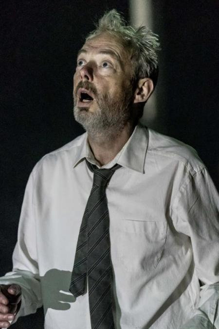 Mark Padmore stars in Cave (20 June 2018)  © Manuel Harlan for London Sinfonietta & Royal Opera House