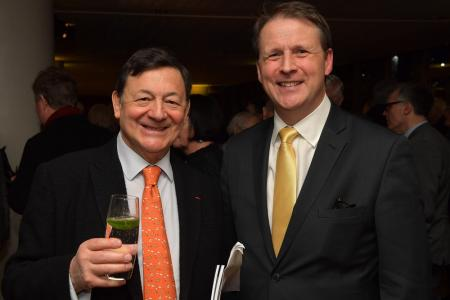 LS co-founder Nicholas Snowman and Chief Executive Andrew Burke © Mark Allan
