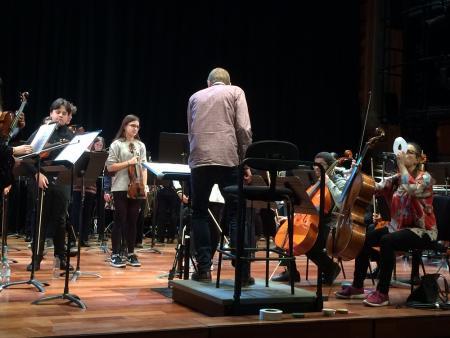 Orango - in rehearsal