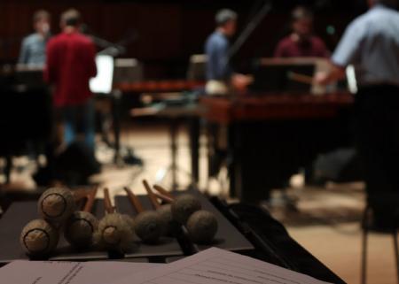 Reich: Music for 18 Musicians Rehearsals © Amelia Lampitt
