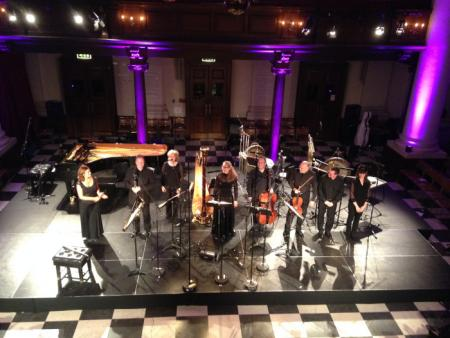 London Sinfonietta at St John's Smith Square 13 10 2016