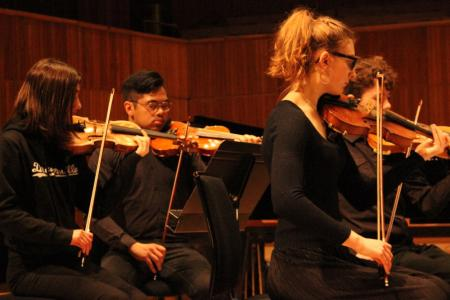 Young musicians from Haringey and Enfield © Niamh Collins