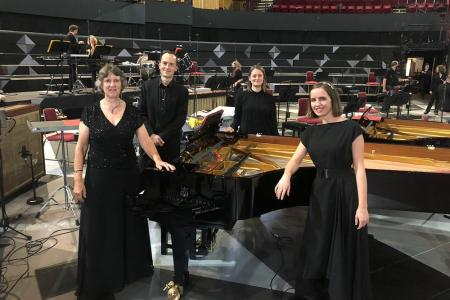 London Sinfonietta at the BBC Proms 2020 - Keyboard section