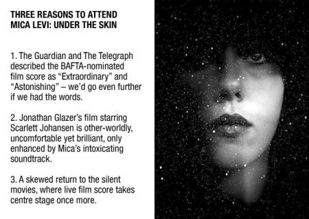Three Reasons to Attend Mica Levi: Under the Skin