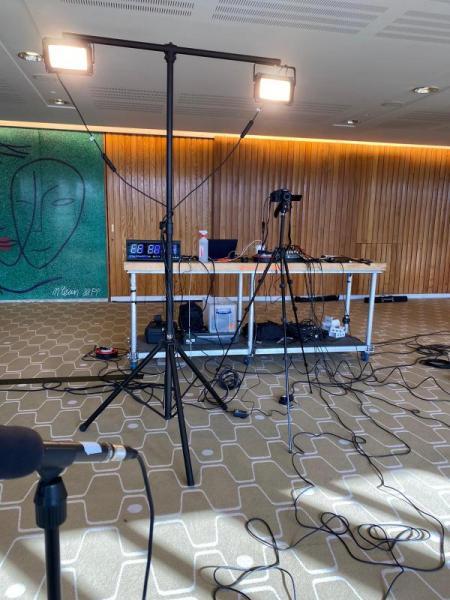 the Live stream set-up