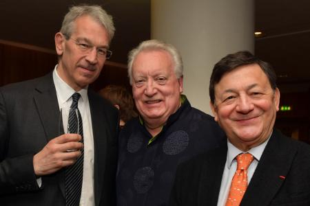 LS Chairman Paul Zisman and LS co-founders David Atherton and Nicholas Snowman © Mark Allan