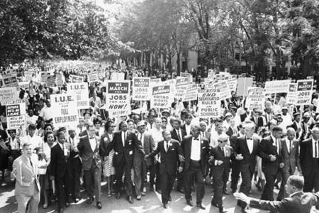 Protests during the American Civil Rights movement