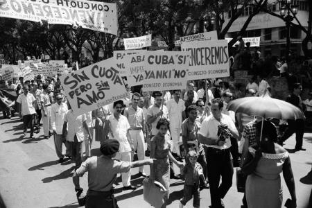 Protests during 1960s Cuba