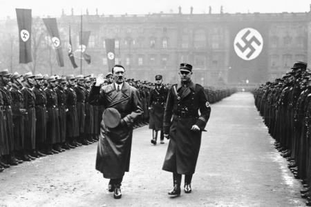 Image of Adolf Hitler during World War 2, Germany