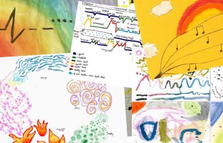 Composition Challenge Postcard Pieces