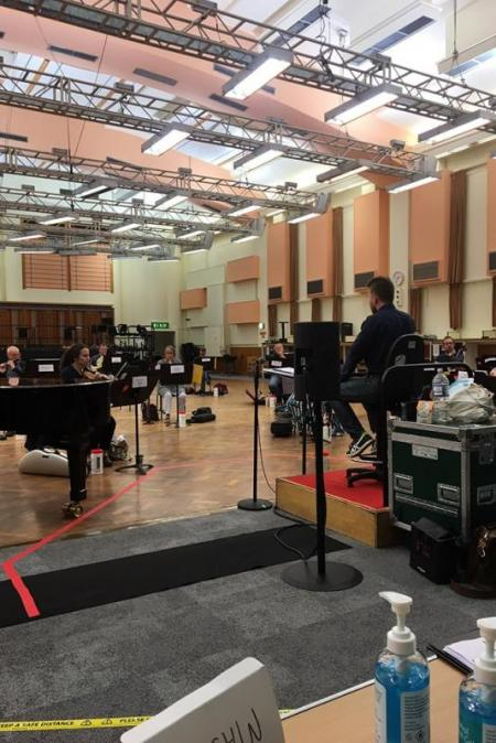 London Sinfonietta at the BBC Proms 2020 - In Rehearsals