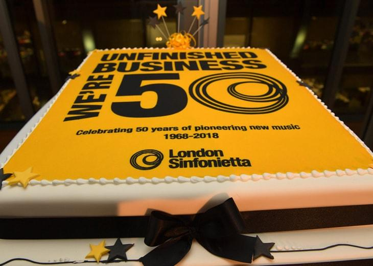 LS 50th Anniversary Birthday Cake