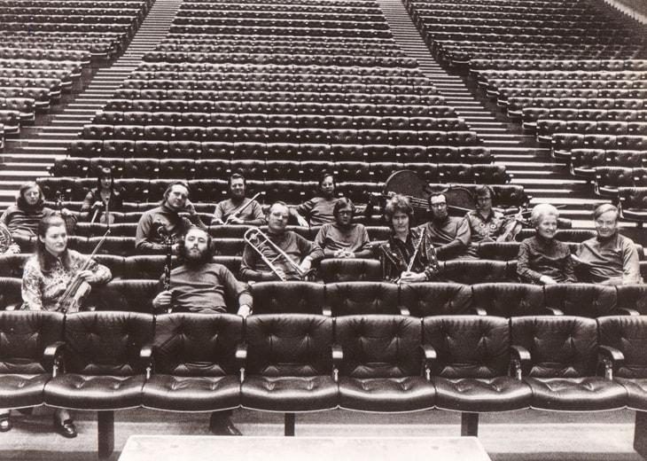 London Sinfonietta in Queen Elizabeth Hall, 1970s