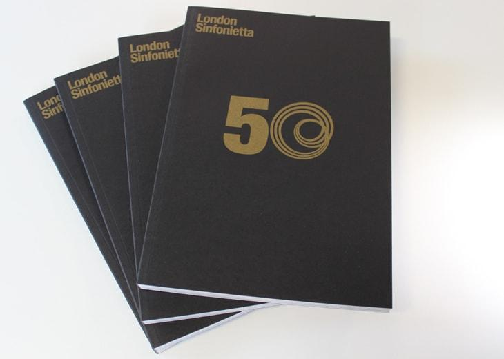 50th Anniversary Programme Book image