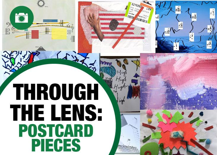 Postcard Pieces